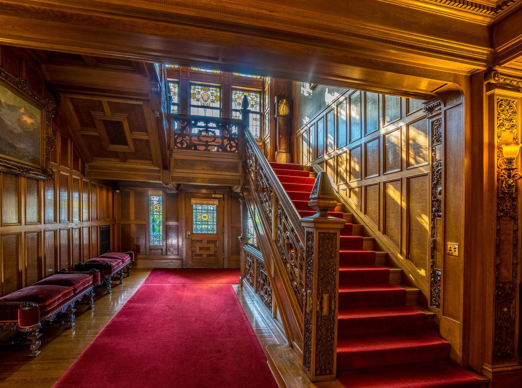 Attic Floor Plan Full Mansion Glensheen