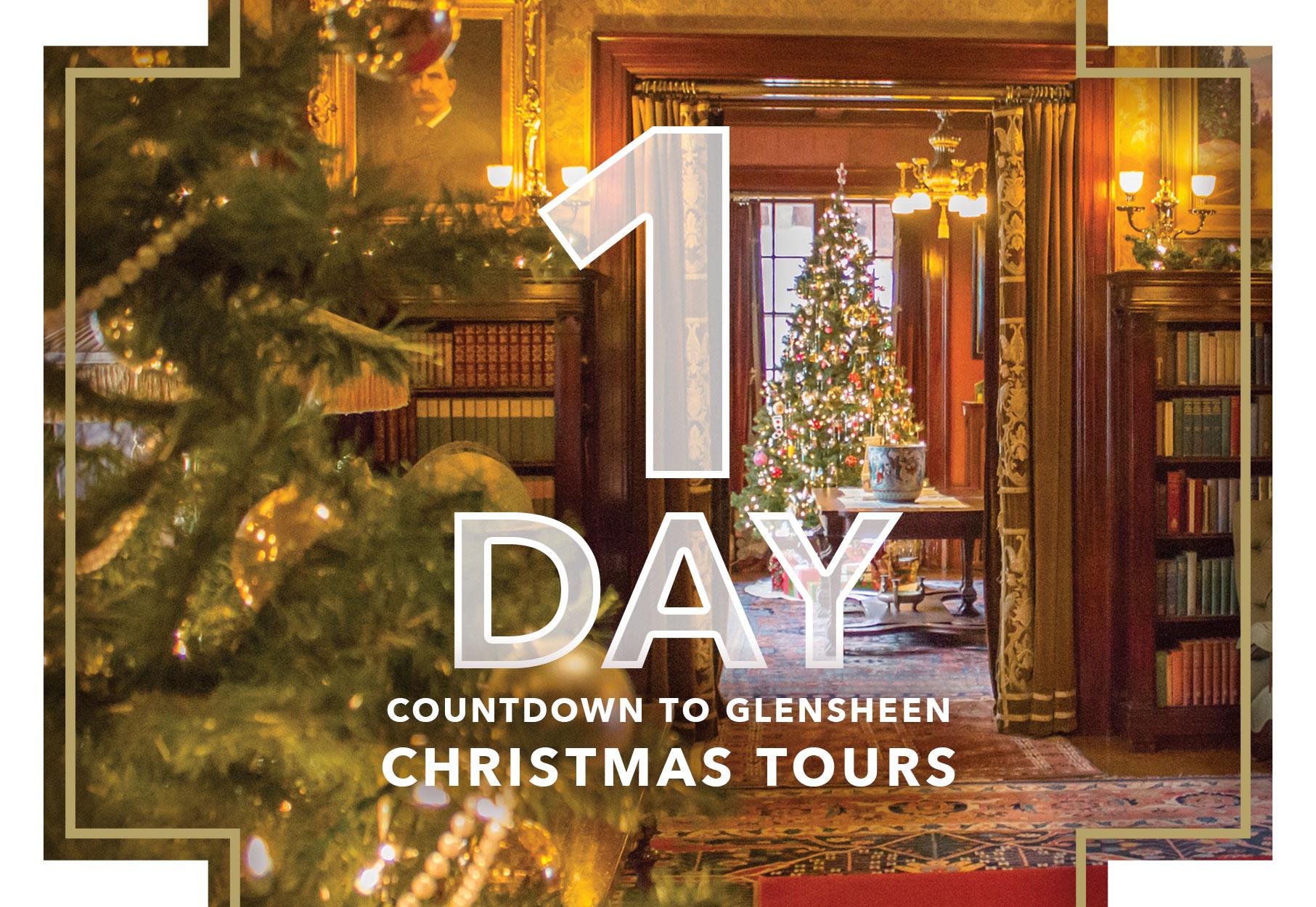 Christmas Tours.1 Day Until Christmas Tours Glensheen