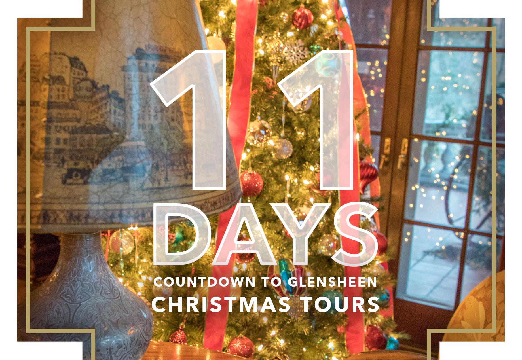 11 Days Until Christmas Tours