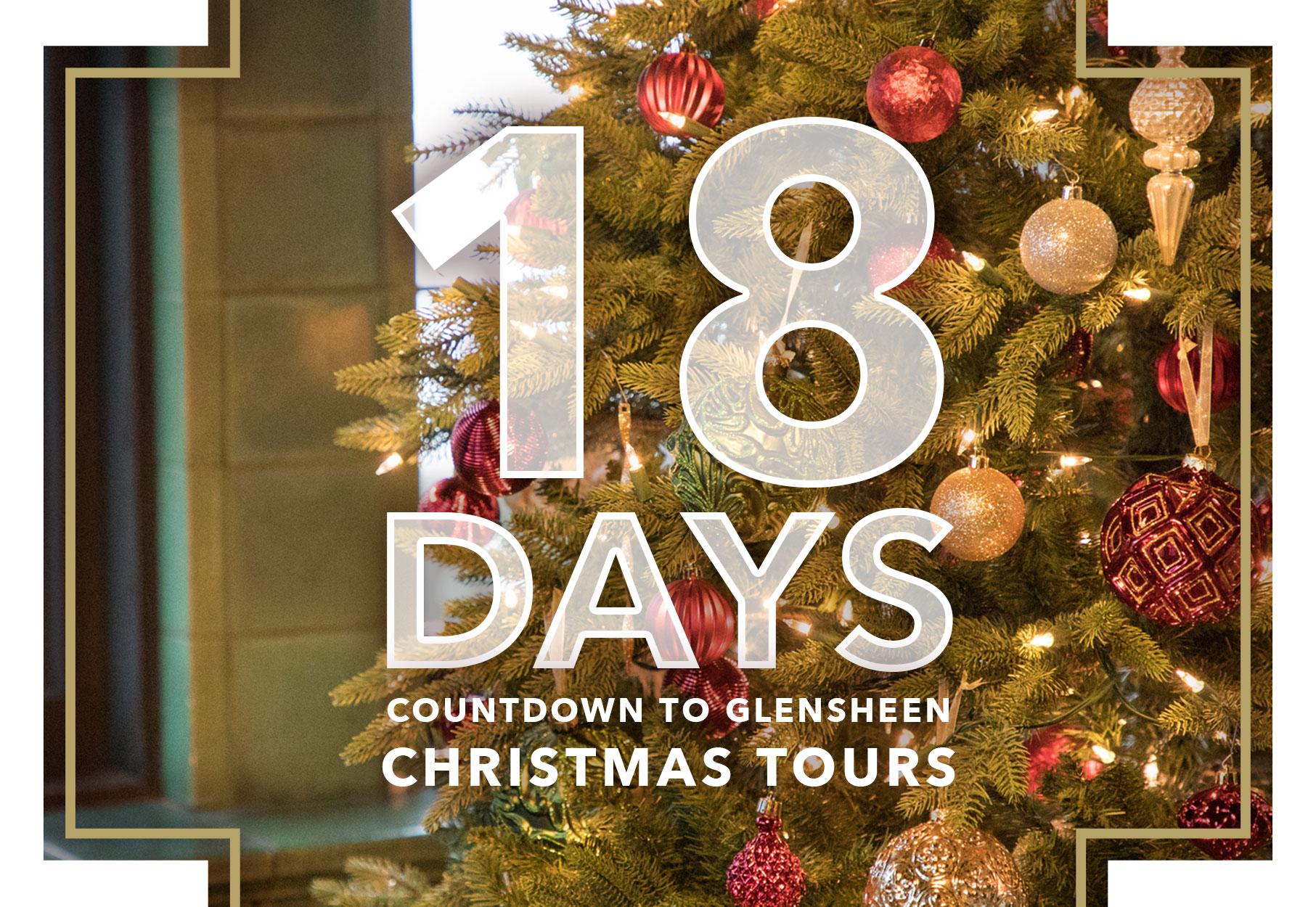 Christmas Tours.18 Days Until Christmas Tours Glensheen