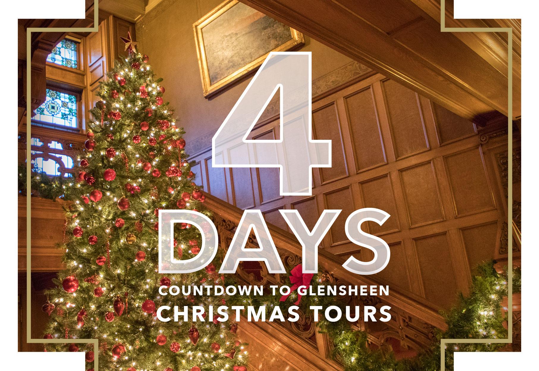 Until Christmas 10 Weeks Till Christmas.4 Days Until Christmas Tours Glensheen