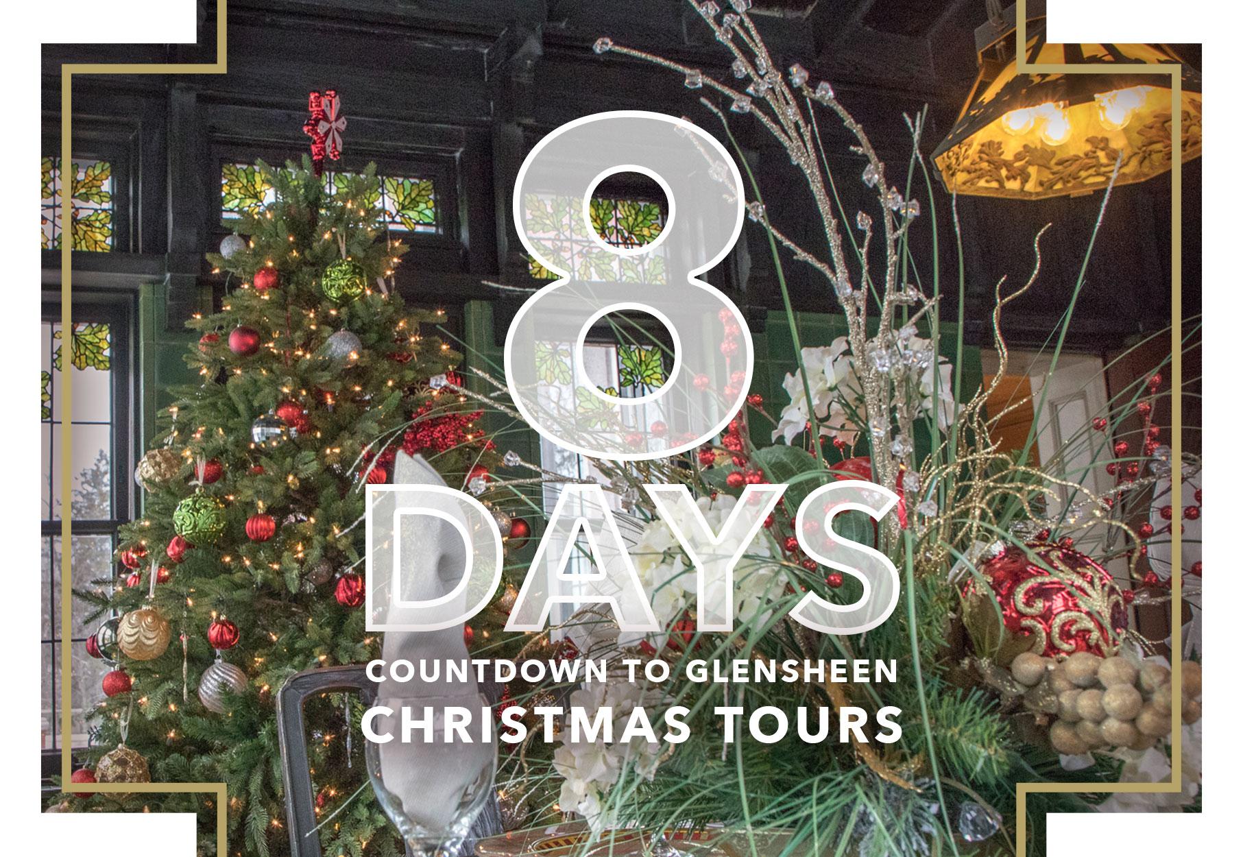 Until Christmas 10 Weeks Till Christmas.8 Days Until Christmas Tours Glensheen
