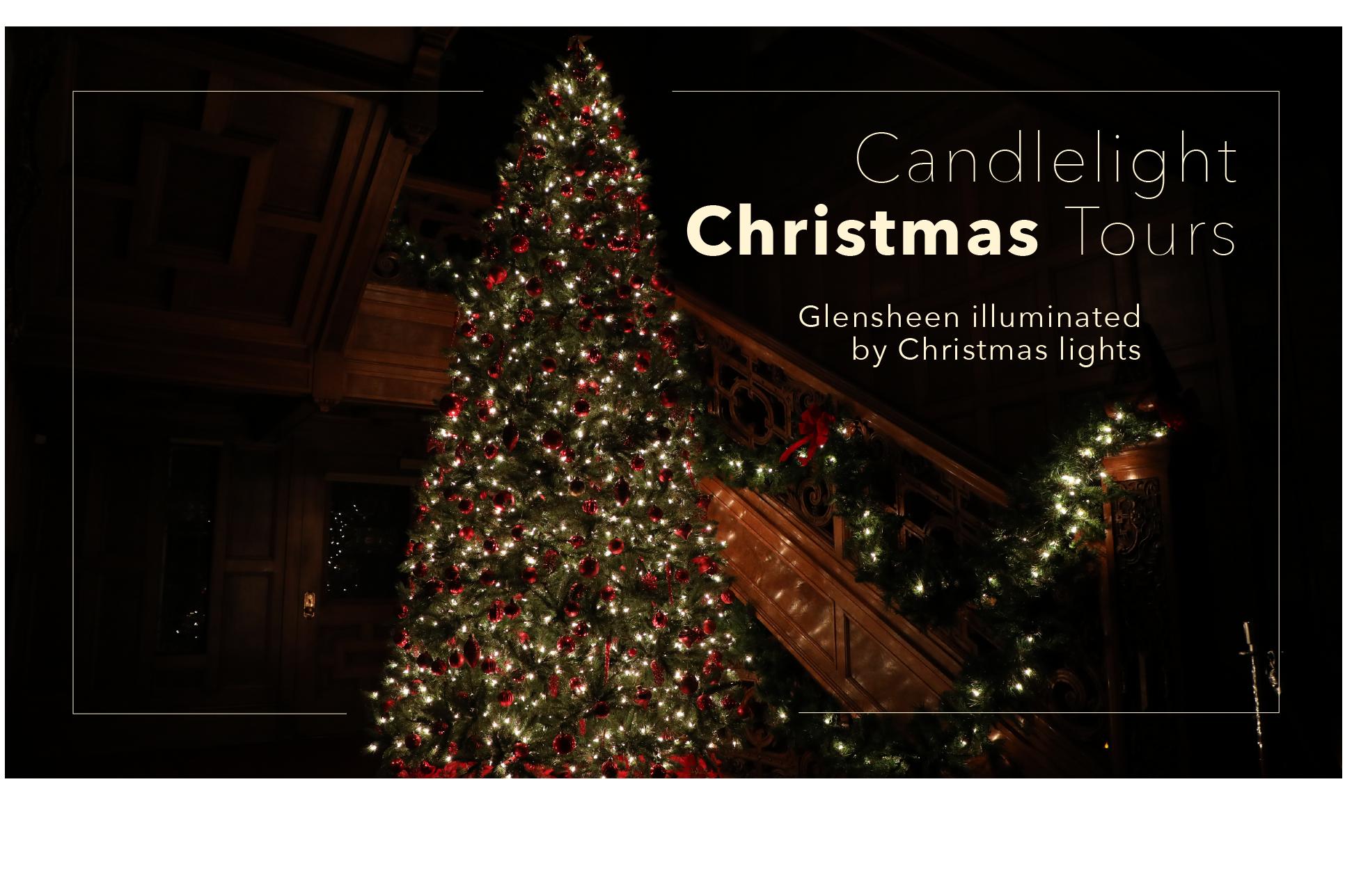 Christmas Tours.Candlelight Christmas Tours Glensheen